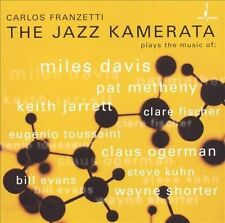 The Jazz Kamerata by Carlos Franzetti (CD, Feb-2005, Chesky)