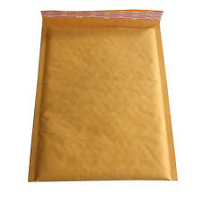 1X 200*250+40mm Kraft Bubble Bag Padded Envelopes Mailers  Pop Yellow Bags