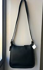 NWT 9966 Coach Vintage Classic's Legacy Zip Black Shoulder Crossbody Bag Purse