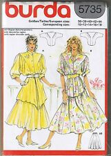 Raglan Sleeve Bat Wing Tunic Top Flared Skirt Sewing Pattern 10 12 14 16 18