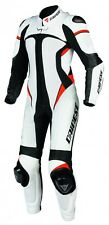 Dainese Leather Suit + AlpineStars Back Protector - One Piece Lady's - Size 40