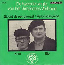 """SIMPLISTIES VERBOND – Stoont Als 'N Garnaal (1975 VINYL SINGLE 7"""")"""