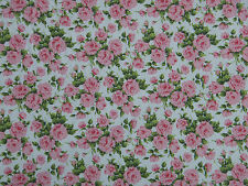 "LIBERTY COTTON POPLIN FABRIC DESIGN ""Little Carline""  1 METRE (100 CM)  PINK"