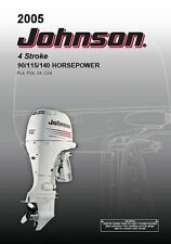Johnson Outboard Owners Manual 2005 4 Stroke, 90, 115 & 140 HP Models PL4 & PX4