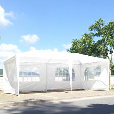 10' x 20' Party Tent Outdoor Heavy Duty Gazebo Wedding Canopy w/4 Side Walls
