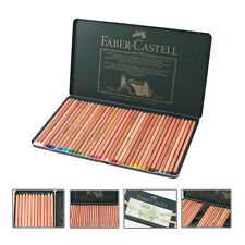 FABER-CASTELL Pastel Pencils PITT 36 Colors Art Drawing Set Metal Tin Case