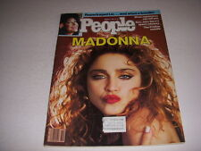 Vintage PEOPLE Magazine, March 11, 1985, MADONNA Cover, ELIZABETH TAYLOR!