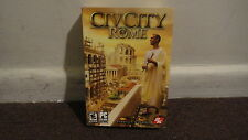 CivCity Rome (PC Computer Game) Strategy Builder  *SEALED*. LOOK!!!!