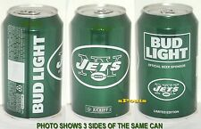 2016 NEW YORK JETS BUD LIGHT KICKOFF BEER CAN NY GREEN FOOTBALL SPORTS MAN CAVE