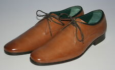 MENS NEW TED BAKER SIPADAN 3 FORMAL CASUAL TAN LEATHER OXFORD SHOES SIZE UK 7