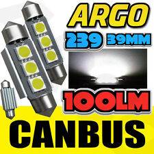 2X BMW Z3 M 3.2 239 C5W WHITE INTERIOR COURTESY BULB LED UPGRADE LIGHT NEW