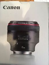 CANON EF 85mm II USM f/1.2L objectif photo