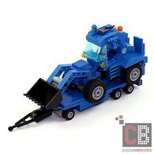 CB CUSTOM Modell THW Radlader auf Tieflader Anhänger für GKW aus LEGO® Steinen