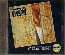 Jackson, Joe Stepping Out Best 24 Carat Zounds Gold CD NEW Sealed