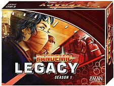 Z-Man Games Pandemic Legacy BOARD GAME, 2 to 4 Players BOARD GAME, Red