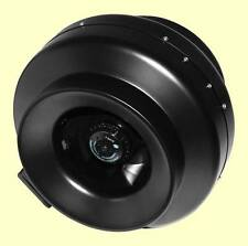 "4"" Inline ceramic-coated metal Exhaust Fan hydroponics ventilation high output"