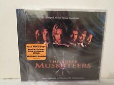 The Three Musketeers [NEW and SEALED CD] Michael Kaman, Bryan Adams, Rod Stewart