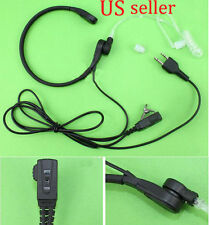Throat Vibration Headset/Earpiece Midland Radios AVP-H8