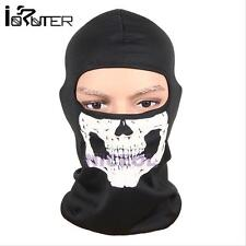 Motorcycle Bike Head Full Face Mask Skull Balaclava Head Hood Neck Protector Cap