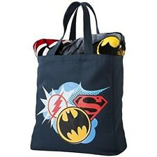 Justice League Silk Throw Blanket & Canvas Tote Set - Brand New With Tags - Rare