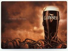 Guinness Beer -  Halloween METAL counter size display  AD - European