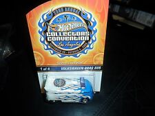 1/3000 HOT WHEELS 2009 23rd ANNUAL CONVENTION LOS ANGELES VW VOLKSWAGEN DRAG BUS