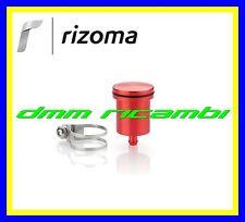 Serbatoio Olio Freno/Frizione Moto RIZOMA CT015 alluminio attacco dritto Rosso