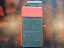 VINTAGE UNIVOX SUPER FUZZ EFFECTS PEDAL SHIN EI  MADE IN JAPAN UNICORD ORANGE