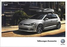2006 06 VW Golf  Accessories oiginal sales brochure MINT