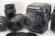 Mamiya RZ67 Pro II + 90mm 127mm 180mmx2 Lenses, Winder, Bellows from Japan