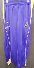 Los Angeles Lakers Reebok Purple Warm Up Tear Away/Snap Away Pants Size Large