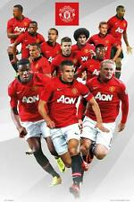 Manchester United Players 2013-2014 - Maxi Poster 61cm x 91.5cm (new & sealed)