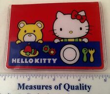 vtg Hello Kitty Wallet RARE Credit Card Sanrio 1976 Japan Phone Pocket Book y9