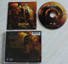CD ALBUM JOB FOR A COWBOY - GENESIS 10 TITRES 2007 METAL