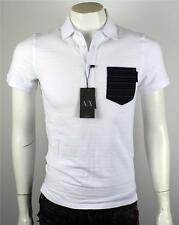 Armani Exchange A|X Men's Jacquard Pocket Logo Polo Shirt/Top J6M358PO Size XXL