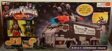 Power Rangers SPD  S.W.A.T. Command Truck Red Ranger Alien Krybot Broodwing MISB