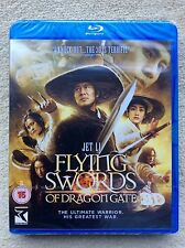 Blu Ray FLYING SWORDS OF DRAGON GATE tru 3D and 2D. 2 discs. New sealed.