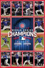 MLB Chicago Cubs 2016 World Series Champion Team Poster - 24x36 - Baseball