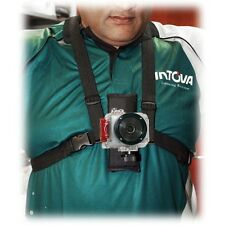 Intova Camera Video Chest Mount Action Camera Strap CS for Sport HD II Edge