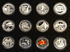 "Canada 2013 ""O Canada"" 12-coin $10 Matte Proof Pure Silver Mint Set 1/2 oz. Each"