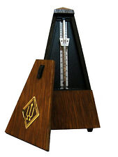 Wittner Bell Wood Key Wound Metronome High Polish- Gloss Mahogny Finish #811 New
