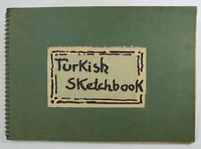 HELMUTH WEISSENBORN TURKISH SKETCHBOOK 1972
