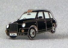 Metal Enamel Pin Badge Brooch Taxi Cab Black Cab London Taxicab