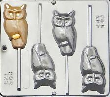 Harry Potter Owl Lollipop Chocolate Candy Mold Halloween  903 NEW