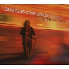 "Andreas Vollenweider ""Live 1982-2007"" 2 CD NUOVO"