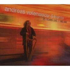 """ANDREAS VOLLENWEIDER """"LIVE 1982-2007"""" 2 CD NEU"""