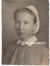 Original Portrait Foto DRK Schwester mit Brosche Schwesternschaft  2.WK