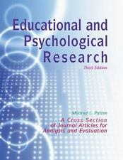 Educational and Psychological Research by Mildred Patten