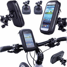 360° Rotatable Bike Mount Holder Case Bicycle Waterproof Bag For Smartphone