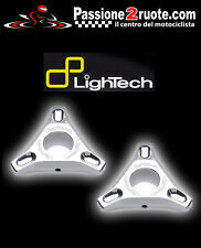 lightech regolatori molla forcella ghiera precarico triumph speed triple argento